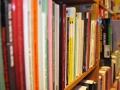 Regał z tradycyjnymi książkami